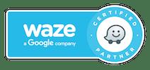 DeMometSomTres és waze partner certificat